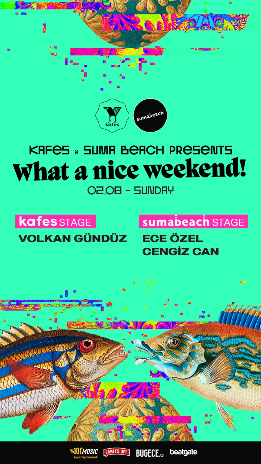 Kafes x Suma Beach - What A Nice Weekend! (Sunday)