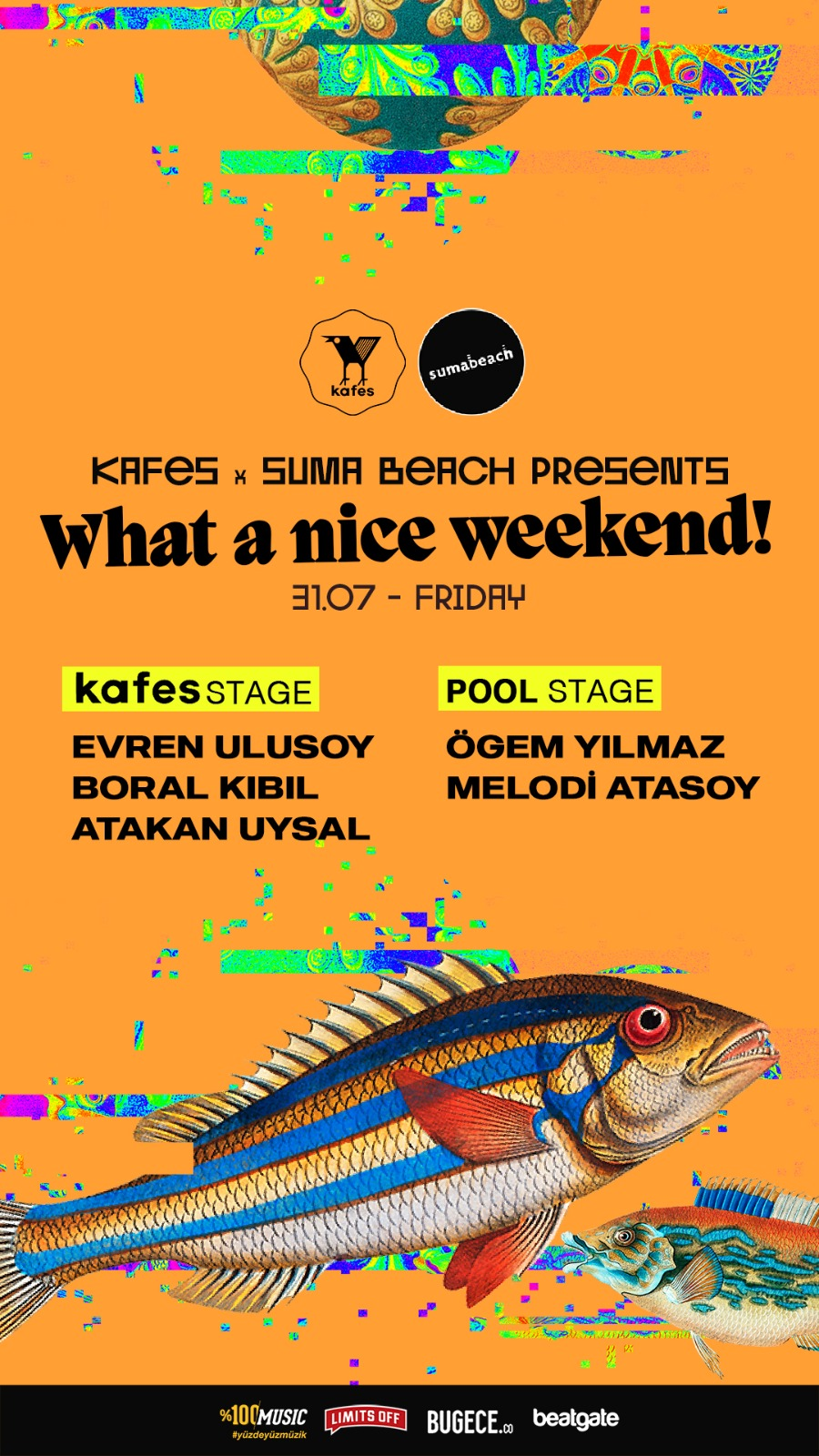 Kafes x Suma Beach - What A Nice Weekend! (Friday)