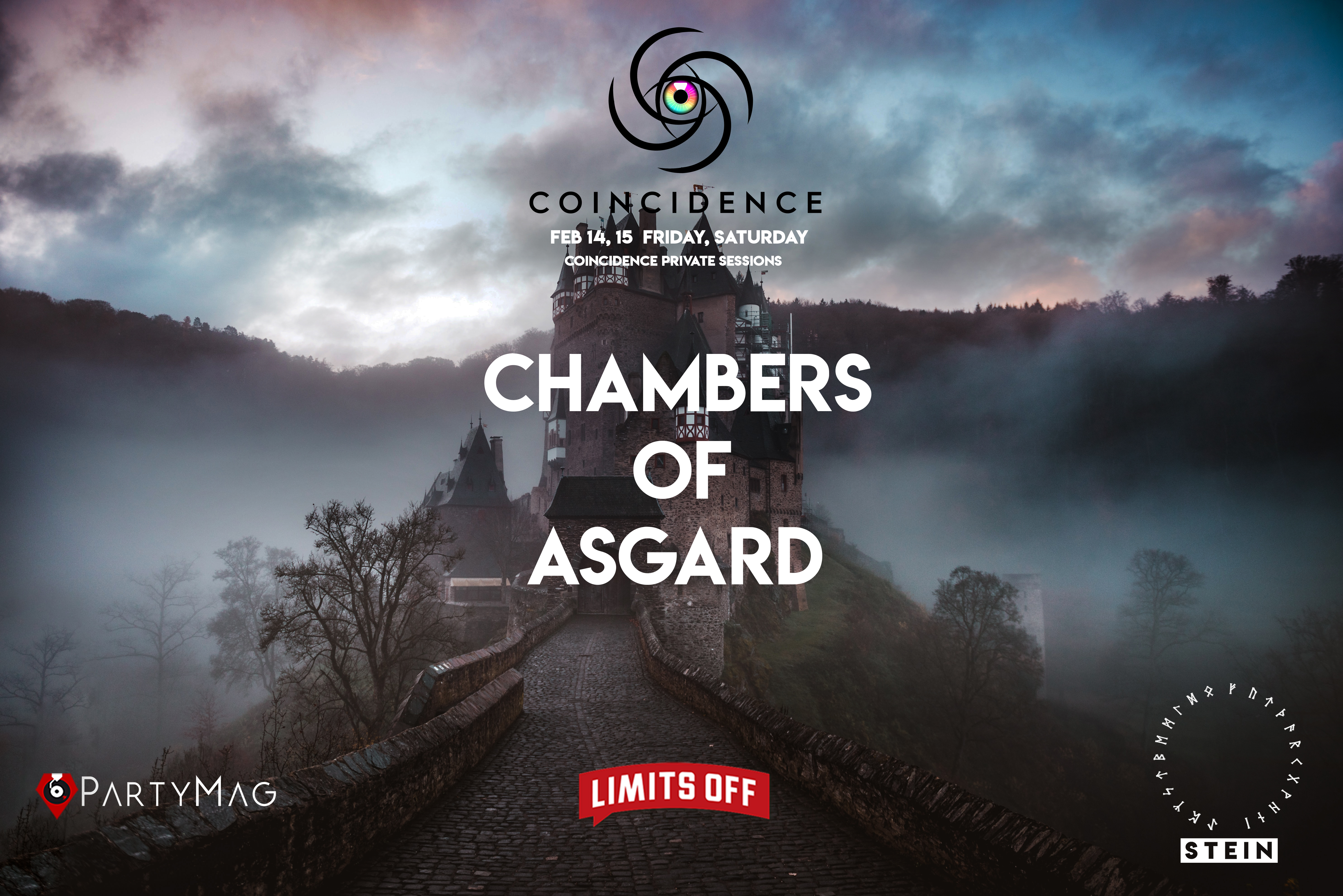 Coincidence Chambers of Asgard